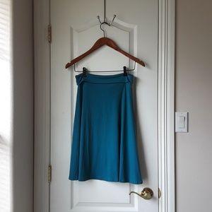 LuLaRoe Turquoise skirt